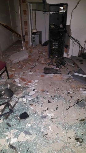 Criminosos explodem unidade bancária em Major Izidoro e fazem reféns