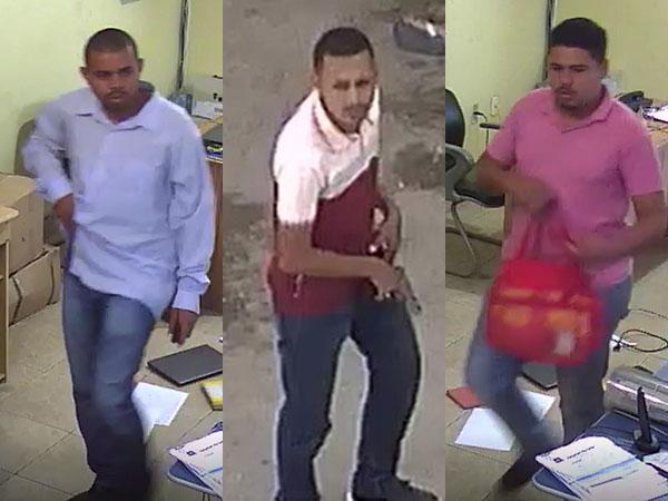 Vídeo: Criminosos invadem garagem de empresa de ônibus e roubam funcionários