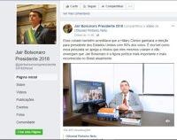 Página oficial de Bolsonaro agride professor alagoano, após vídeo