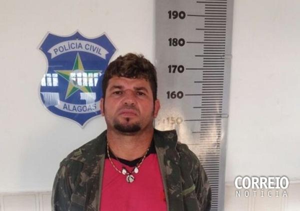 Foragido da Justiça de Paulo Afonso foi preso em Inhapi- AL