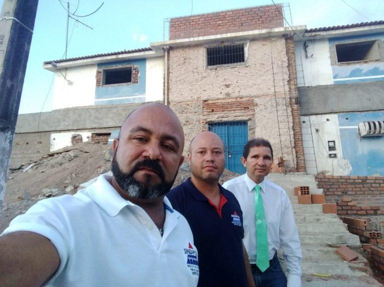 Sindpol denuncia condições das carceragens onde ficam presos de Delmiro e região