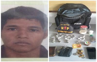 Delmiro Gouveia: Homem é preso por estupro de vulnerável e tráfico de drogas