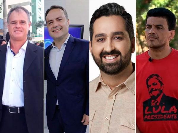 Renan Filho tem 65%; Josan, 5%, Basile, 3% e Melquezedeque, 2%, aponta Ibope