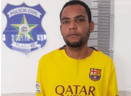 Acusado de homicídios e envolvimento em facção criminosa é preso em Delmiro Gouveia