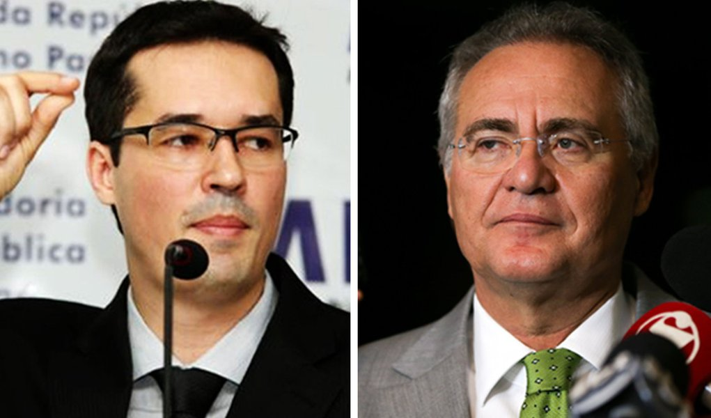 Renan Calheiros pede afastamento de Deltan do Ministério Público Federal