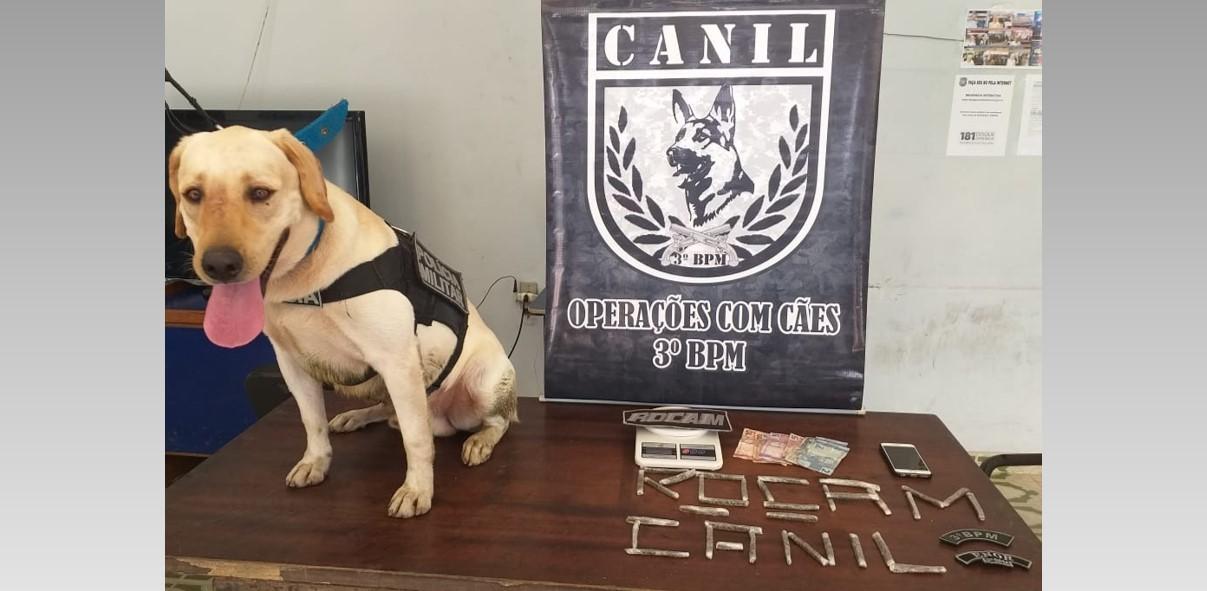 Homem é preso com drogas em Arapiraca
