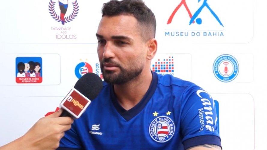Vídeo: Alagoano Gilberto vice-artilheiro do  brasileirão conta detalhes do início da carreira e exalta o Bahia