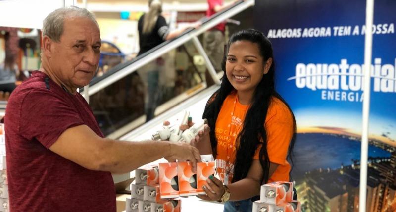 Sertão: Santana do Ipanema recebe ação de troca de lâmpadas da Equatorial