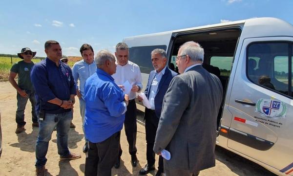 TRATAMENTO IMA e MPE fiscalizam CTR que recebe resíduos retirados das praias