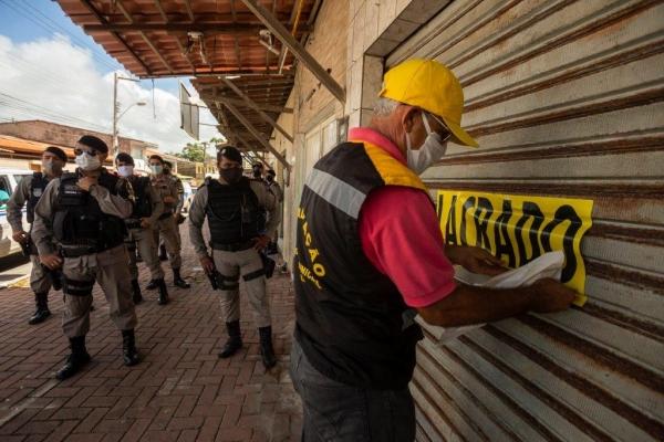 CORONAVÍRUS Operação conjunta reforça fiscalização ao cumprimento do decreto emergencial em Maceió