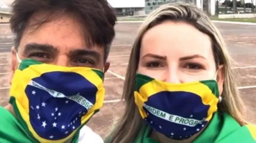 Assassino de Daniella Perez, Guilherme de Pádua vai às ruas para manifestação pró-Bolsonaro