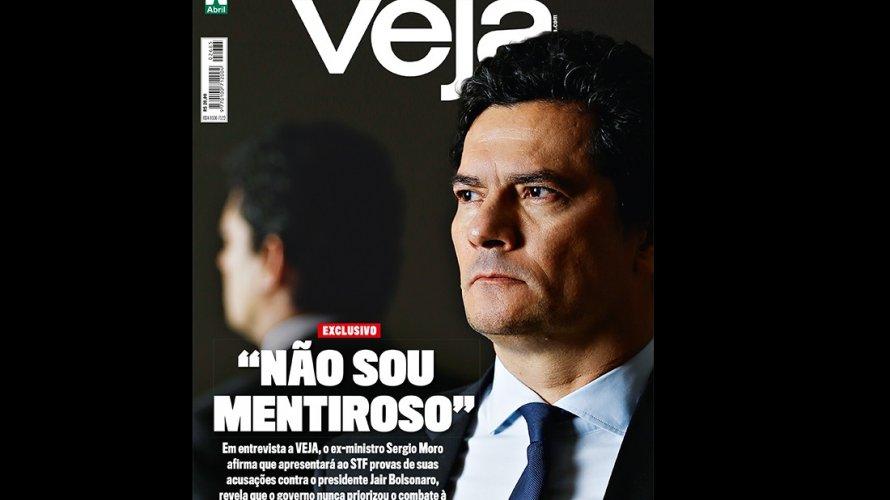 "Moro levará provas contra Bolsonaro ao STF: ""Não sou mentiroso"""