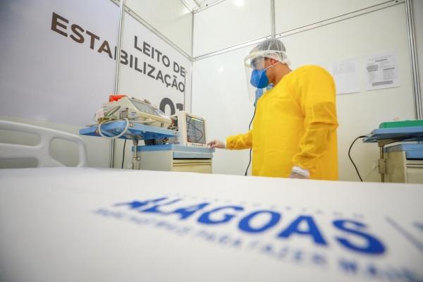 ENFRENTAMENTO Governo inaugura Hospital de Campanha em Jaraguá com 150 novos leitos para Covid-19