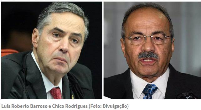 Barroso afasta por 90 dias senador Chico Rodrigues, pego com dinheiro na cueca