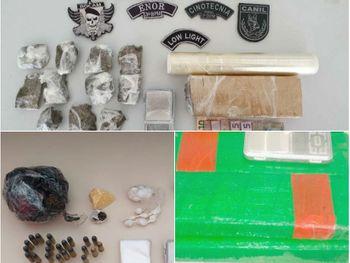 AGRESTE:Polícia apreende maconha, crack e cocaína em cidades do Agreste de Alagoas