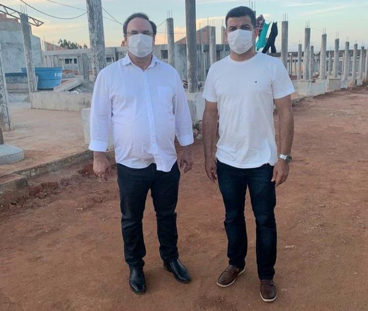 ARAPIRACA: Prefeito Luciano Barbosa visita obras e agenda reunião com construtora da UPA