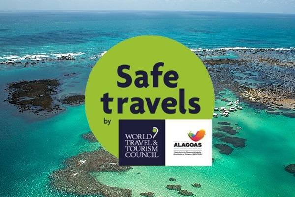 TURISMO Governo concederá selo Safe Travels a destinos e empreendimentos de Alagoas