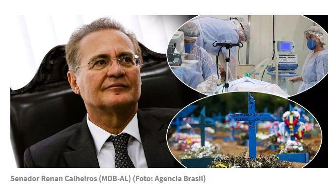 Renan Calheiros já tem em mãos prova contra Bolsonaro e integrantes do governo