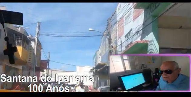 Jornalista Fernando Valões, contestar  data da  emancipação política de Santana do Ipanema