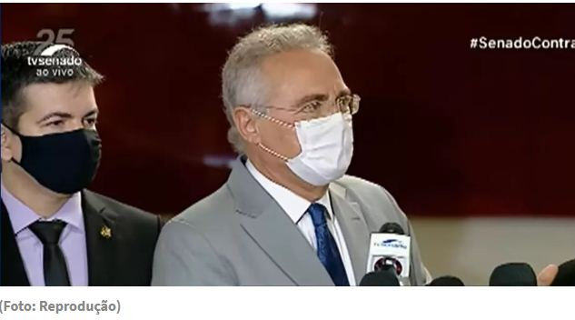 Renan ironiza Flávio Bolsonaro: finalmente aderiu à ciência (vídeo)