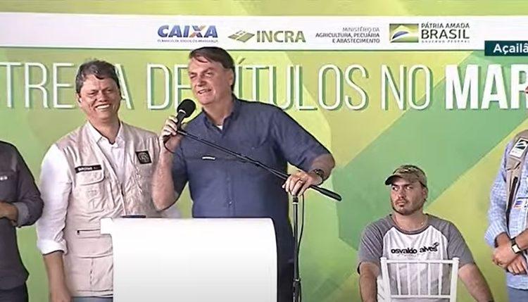 """""""Quem é o gordinho ditador aqui do Maranhão"""", questiona Bolsonaro em evento"""