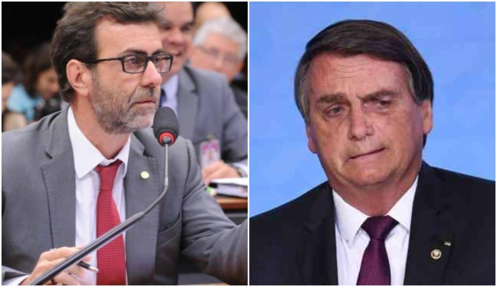 """""""Além de tudo é frouxo"""", diz Freixo após Bolsonaro mentir que não atacou a China"""