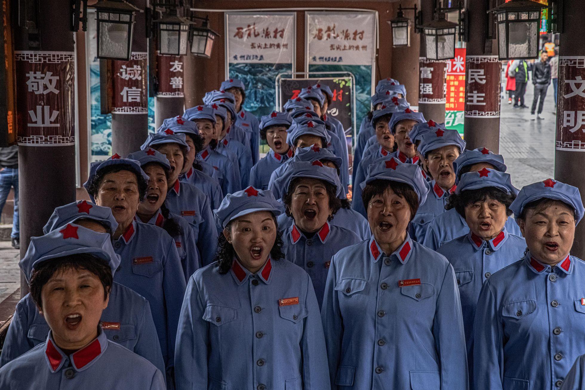 China promove 'turismo vermelho' para fomentar a devoção ao Partido Comunista