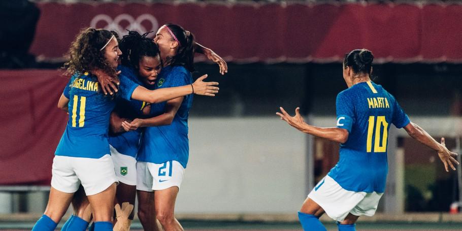 Em jogo muito movimentado, Brasil e Holanda empatam por 3 a 3 em Tóquio