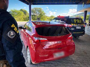 Irmão de vereador  é detido com carro  adulterado e motor  roubado em  Santana do Ipanema
