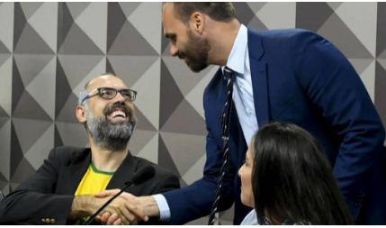 """Allan dos Santos: Se CPI provar que recebi dinheiro do véio da Havan, """"eu visto a camisa do Lula"""""""