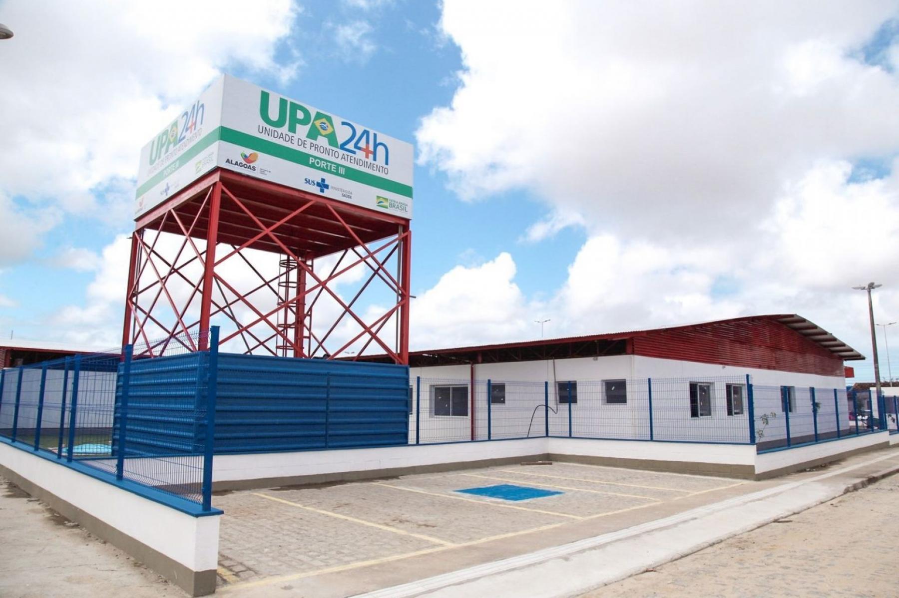 Governo inaugura a quinta UPA de Maceió nesta segunda-feira (20) no cidade universitária
