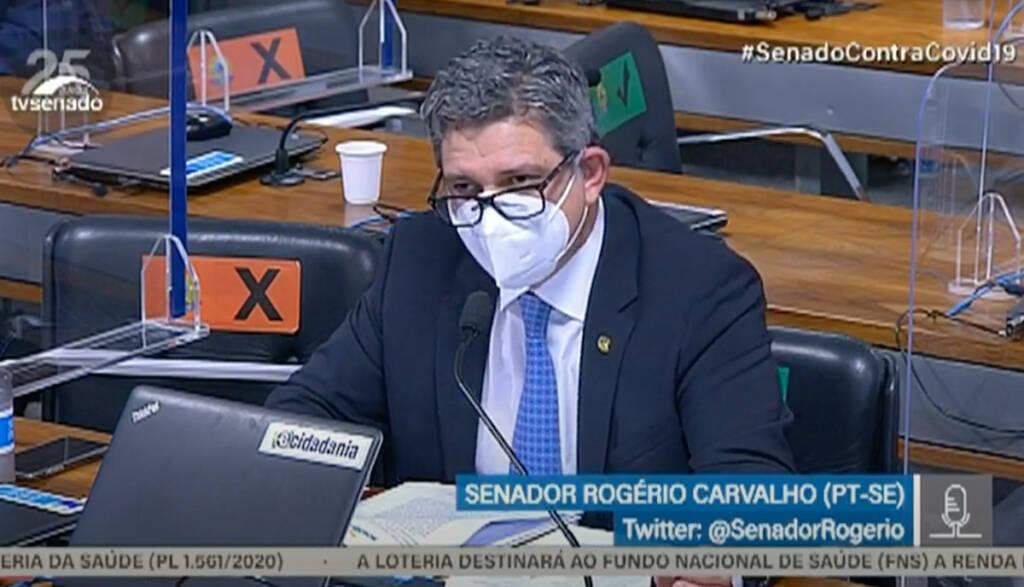 """Rogério Carvalho confronta Marcos Rogério: """"O que tem seu assessor pego com drogas a ver com você?"""""""